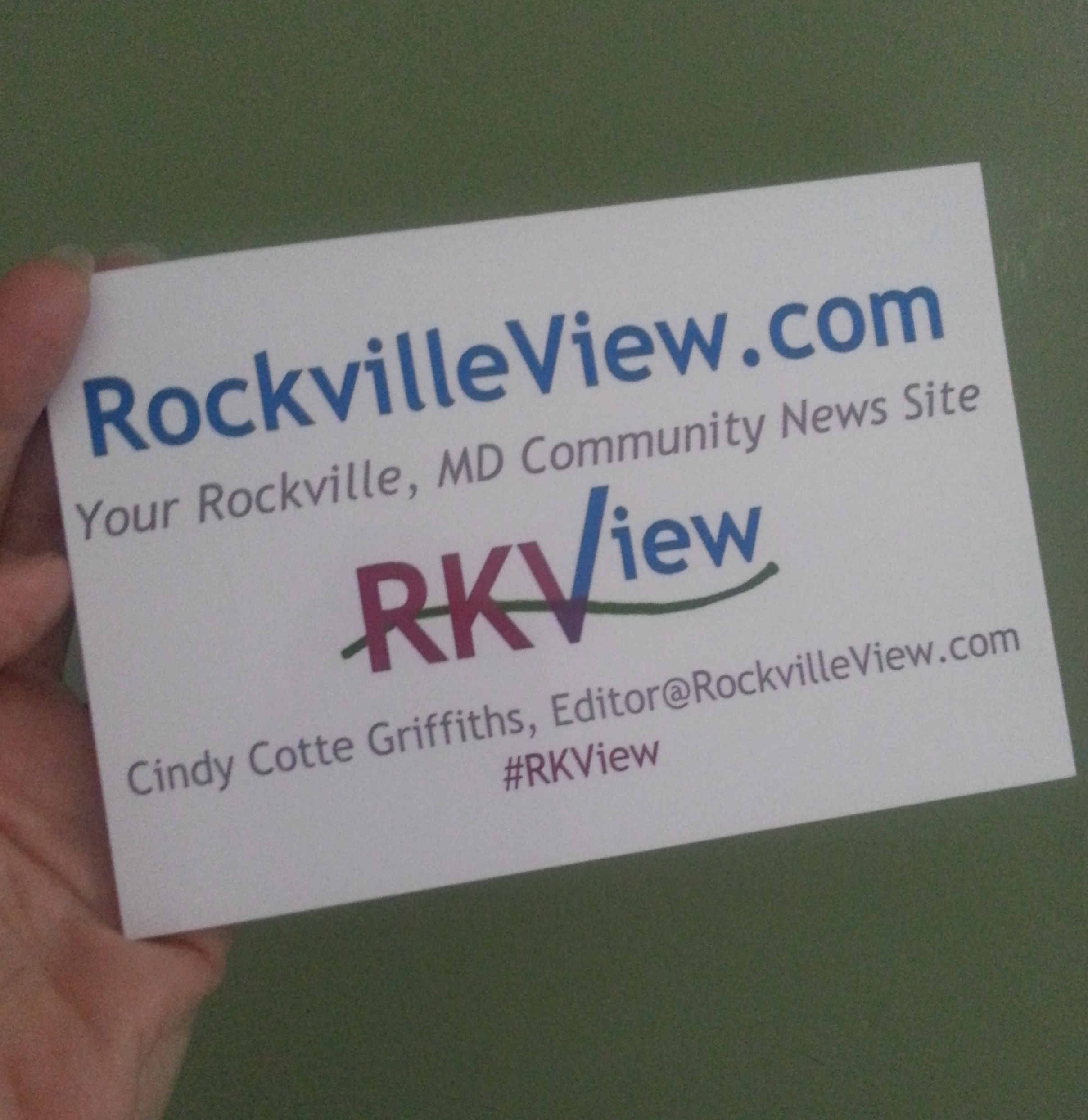 Websites: Rockville View and Trying Not to Bneg